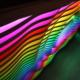 blinkende-lichter soundwave dj table beleuchtet